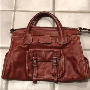 Vintage Chloé Leather Handbag